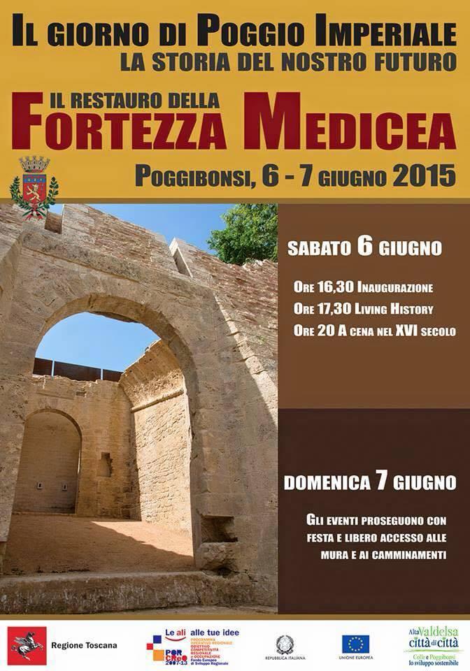 Reastauro della Fortezza Medicea (6-7 giugno 2015)
