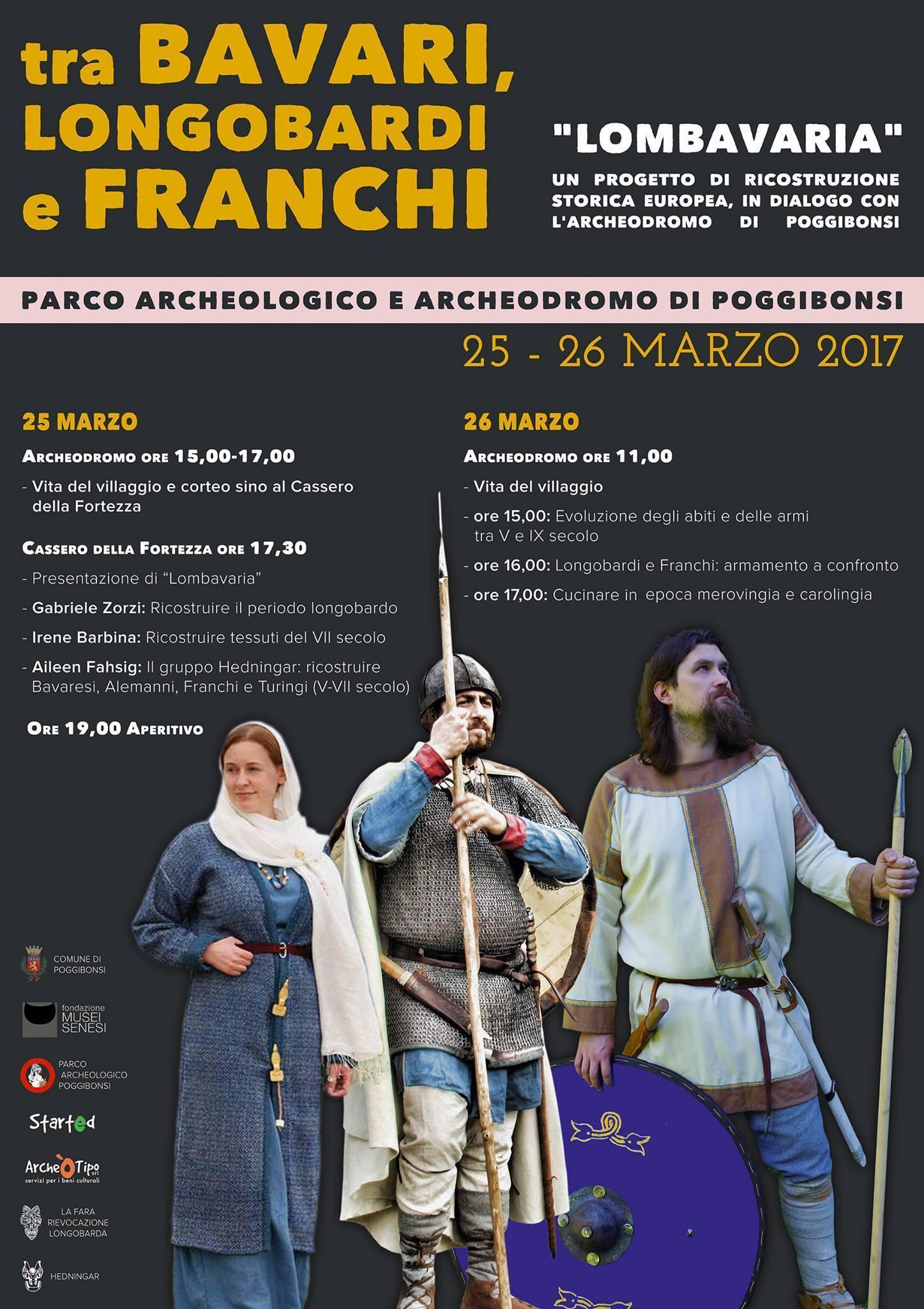 Lombavaria. Tra Bavari, Longobardi e Franchi (25-26 marzo 2017)