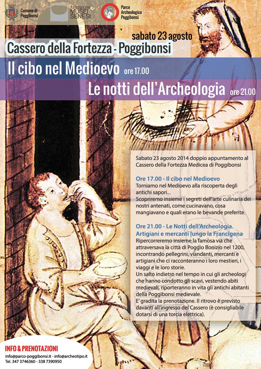 Il cibo nel Medioevo (sabato 23 agosto 2014, ore 17)
