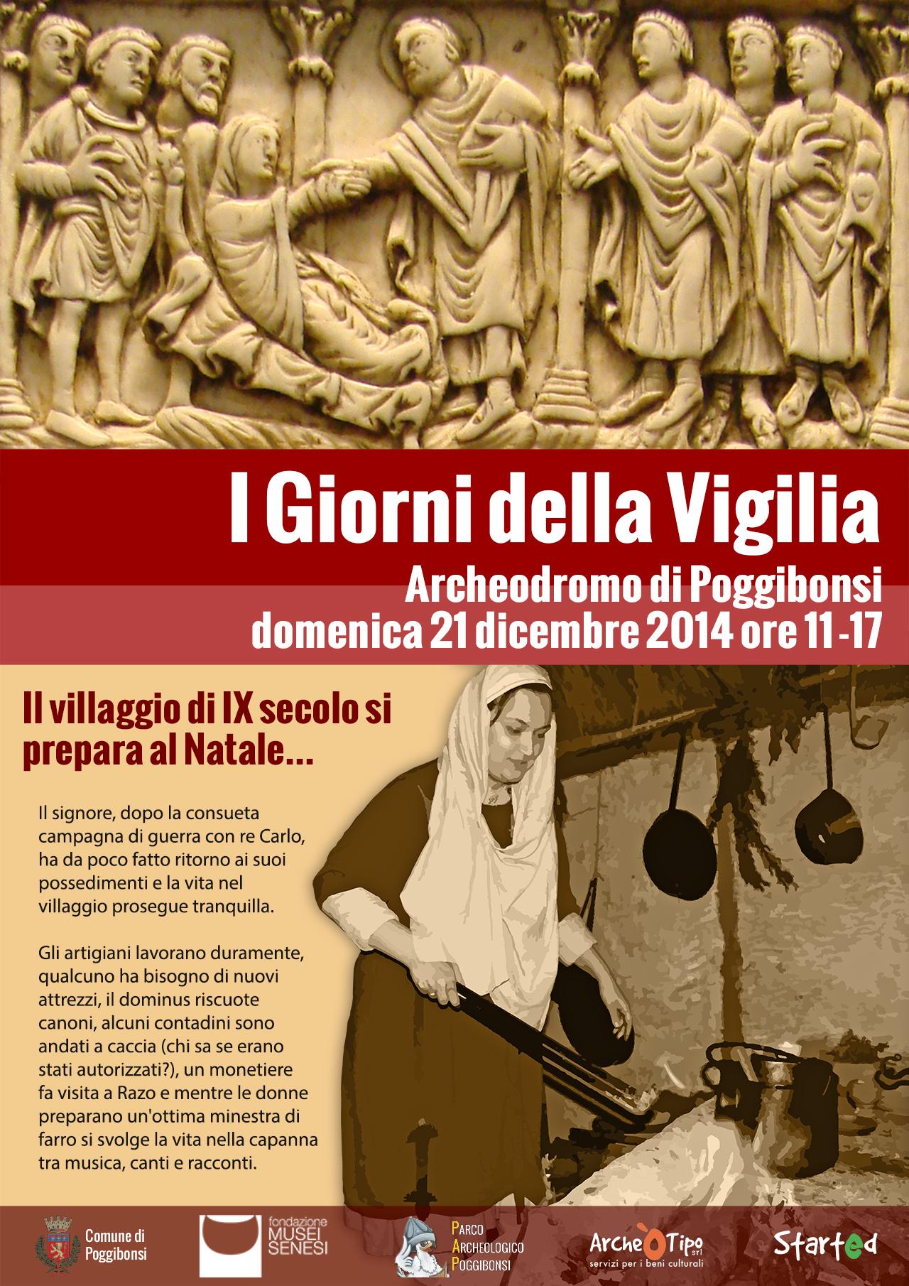 I giorni della Vigilia (Archeodromo, domenica 21 dicembre 2014)