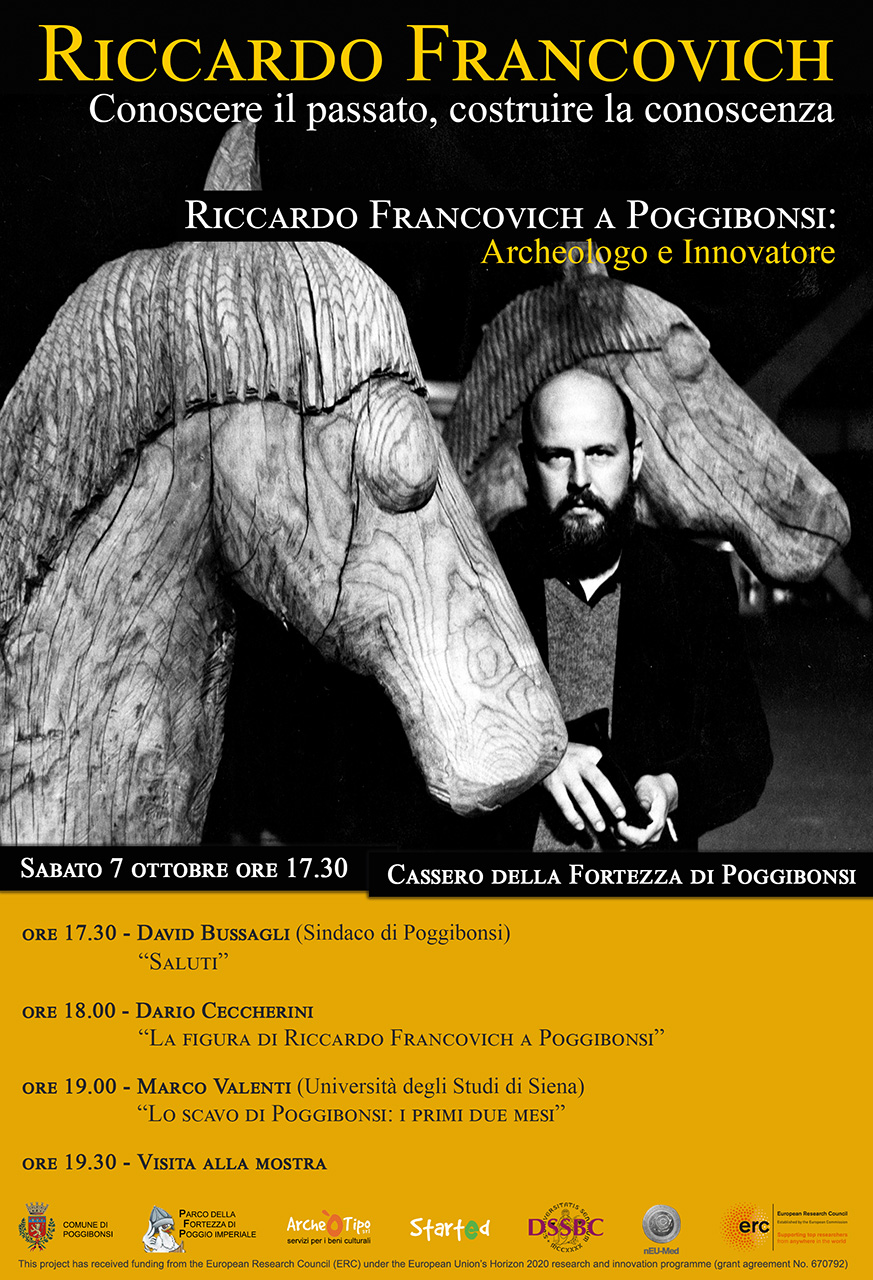 Riccardo Francovich a Poggibonsi: Archeologo e Innovatore (7 ottobre 2017)