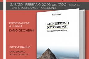 """Presentazione del libro """"L'Archeodromo di Poggibonsi"""" - Sabato 1 febbraio 2020"""