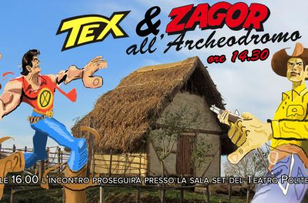 Tex & Zagor all'Archeodromo